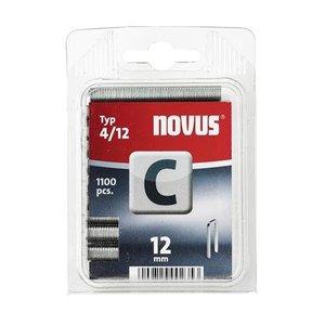 Novus Novus Smalrug nieten C 4/12 mm - 1100 stuks