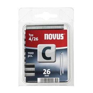 Novus Novus Smalrug nieten C 4/26 mm - 1100 stuks