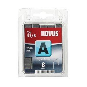 Novus Novus Dundraad nieten A 53/8 mm - 2000 stuks