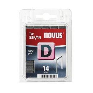 Novus Novus Vlakdraad nieten D 35F/14 mm - 600 stuks