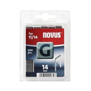 Novus Novus Vlakdraad nieten G 11/14 mm - 600 stuks