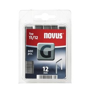 Novus Novus Vlakdraad nieten G 11/12 mm - 600 stuks