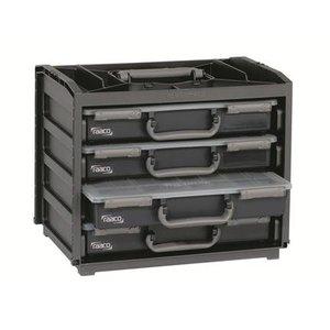 Raaco Raaco Handybox Silverline 4 vakkendozen - 139113