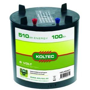 Koltec Koltec Batterij 6 volt - 100 Ah