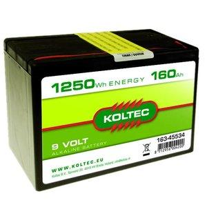 Koltec Koltec Batterij 9 Volt - 160Ah