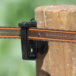 Koltec Koltec Lint bruin/ rood 20 mm versterkt