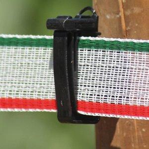 Koltec Koltec Lint wit/groen/rood 200 meter 40 mm 162-39066