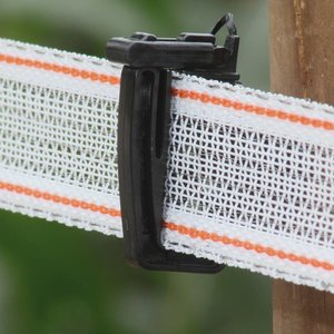 Koltec Koltec Lint wit/rood 40 mm versterkt