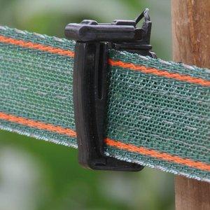 Koltec Koltec Lint groen/rood 40 mm versterkt