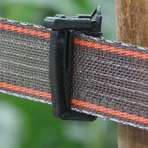 Koltec Koltec Lint bruin/rood 40 mm versterkt