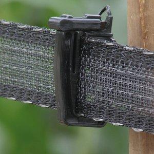 Koltec Koltec Lint zwart 40 mm versterkt