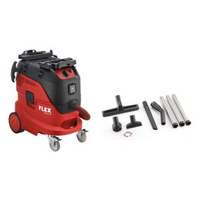 Flex powertools Flex Veiligheidsstofzuiger VCE 44 L AC Klasse L  + reinigingsset