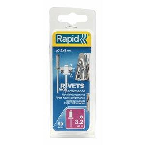 Rapid Rapid High Performance popnagel -  blindklinknagel Ø3,2 x 8 mm - 5000383