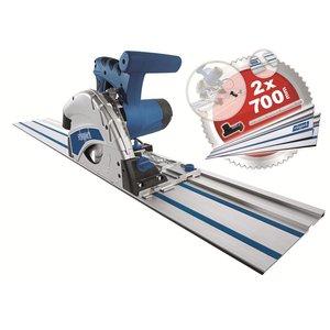 Sheppach Sheppach PL55 invalzaag 160 mm met geleiderail 1200W - 5901802915