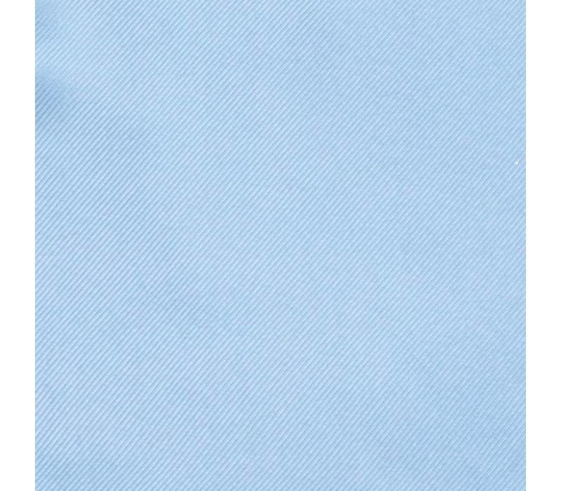Handrolliertes Einstecktuch aus Seide - Hellblau