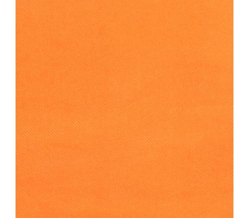 Handrolliertes Einstecktuch aus Seide - Orange