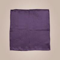 Handrolliertes Einstecktuch aus Seide - Violett