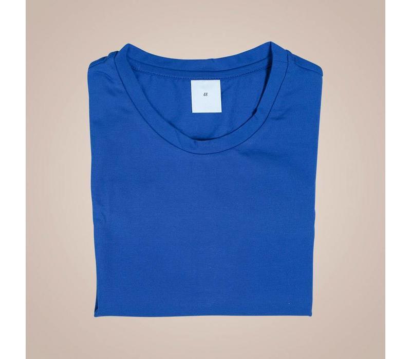 Hochwertiges Unterhemd-Shirt aus elastischer Baumwolle | Rundhals