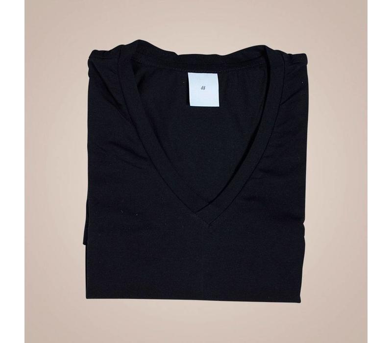 Hochwertiges Unterhemd-Shirt aus elastischer Baumwolle | Slim Fit