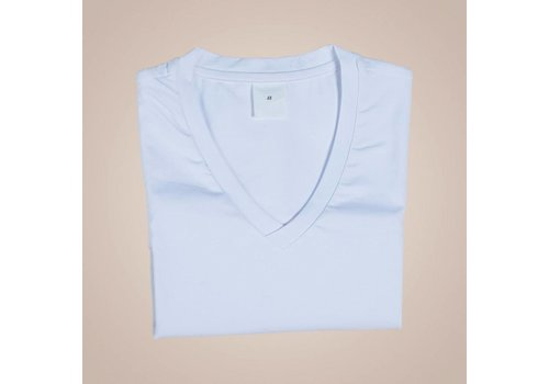 PAISLEY Unterhemd-Shirt mit V-Ausschnitt | Weiß