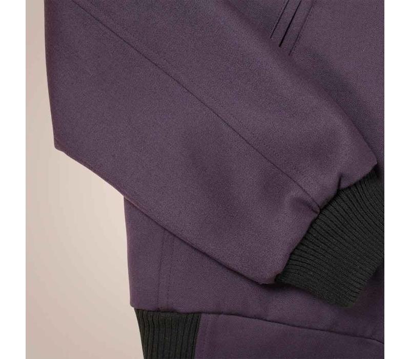 Blouson aus Merino-Wolle | Slim Fit