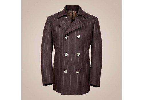 PAISLEY Caban-Jacke aus 100% Wolle | Braun