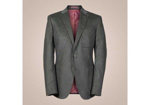 PAISLEY Anzug aus Baumwoll-Cord | Olive