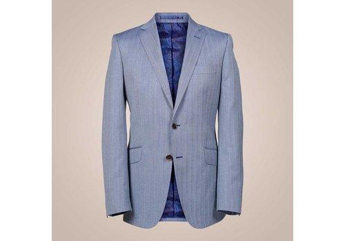 PAISLEY Anzug aus reiner Wolle | Fischgrätenmuster