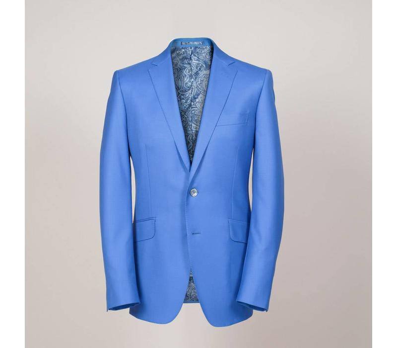 Business-Anzug aus 100% Wolle (S'150) in himmeblau | Passform: Slim Fit