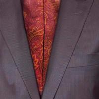 Anzug aus grau-braunerWolle | Passform: Slim fit