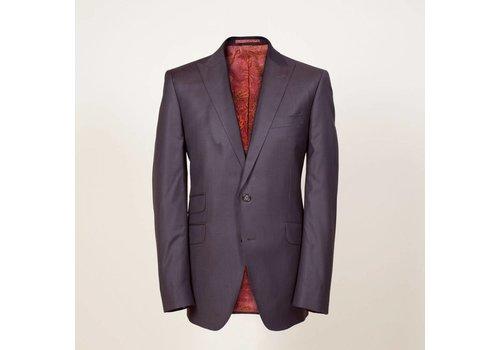 PAISLEY Anzug aus Wolle (S'150) | Grau-Braun