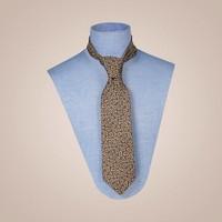 Krawatte handgefertigt aus Jacquard-Seide - Breite: 8,5cm