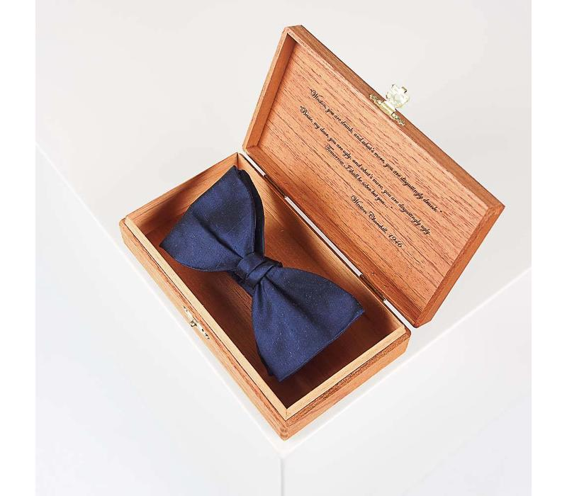 Holzbox - TheBowKnot - Verpackung Schleife