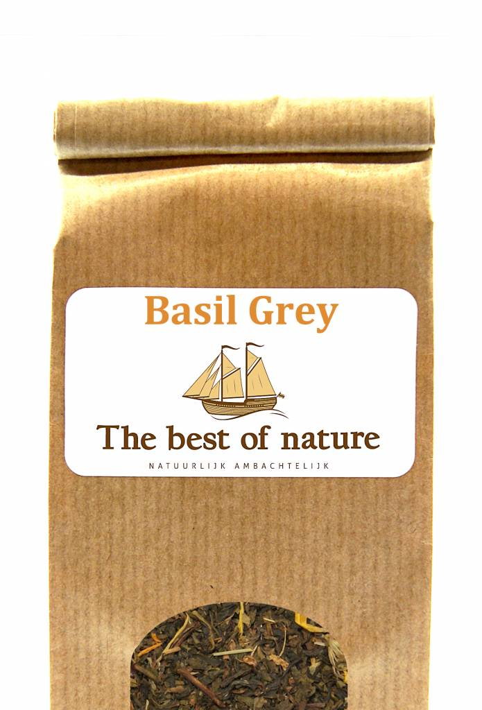 The best of nature - Thee Basil Grey goene thee