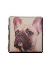 Adamo French Bulldog 4 sigarettendoosje