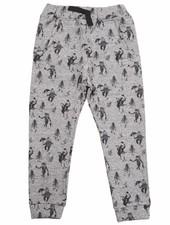 trousers - gris chiné animeaux