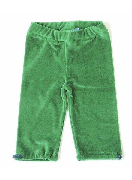 OUTLET // broek velvet green