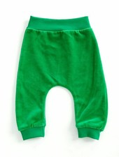 baggypants velours - groen