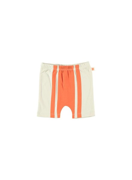 OUTLET // retro short - red/beige