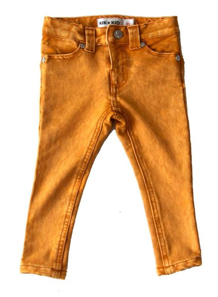 OUTLET // jeans brown/yellow