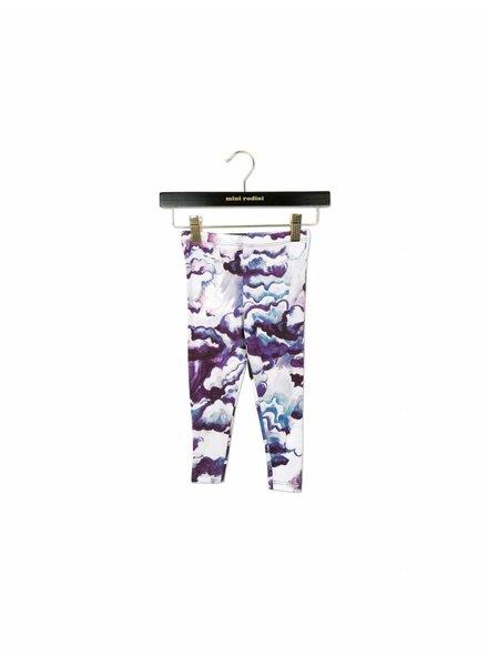 OUTLET // legging clouds - purple