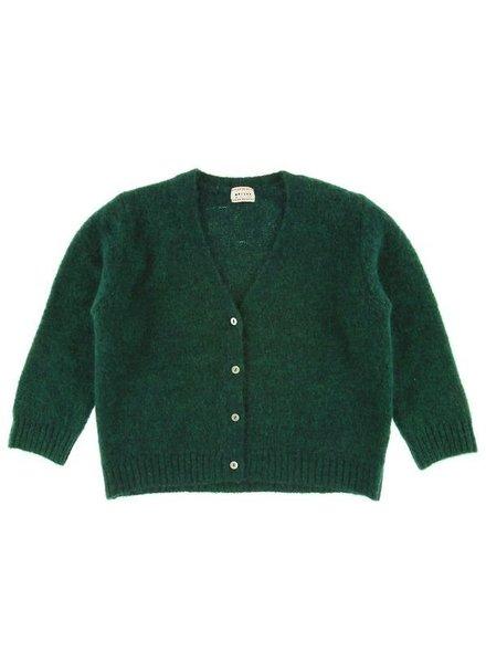 OUTLET // cardigan Elena - fuzzy verde
