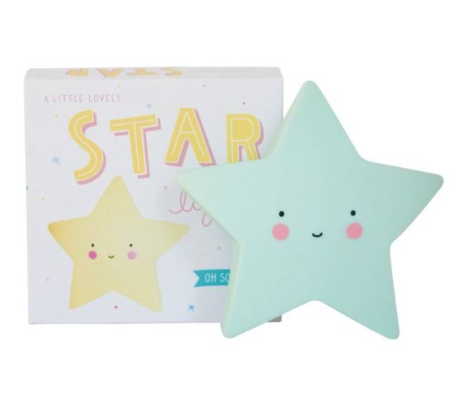 sfeerlamp star - mint