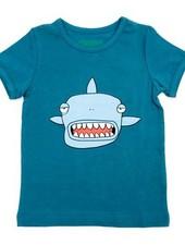 OUTLET // t-shirt Louis - petrol shark