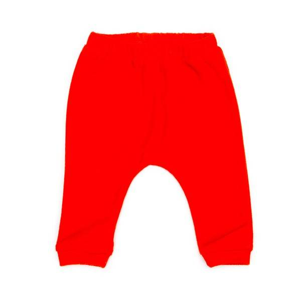 babytrousers Tommy terry - fiery red