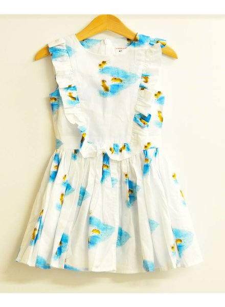 OUTLET // dress Flamenco Minnie azur