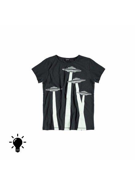 OUTLET // t-shirt asphalt ovnis fluor
