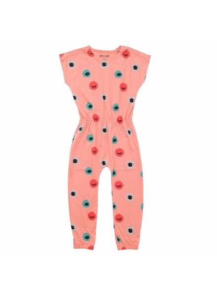 OUTLET // jumpsuit senses - peach