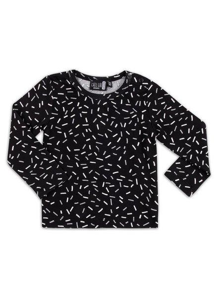 OUTLET // long sleeve - sprinkles black