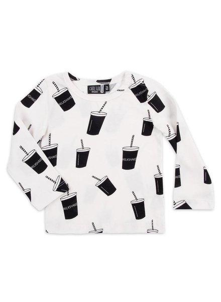 OUTLET // long sleeve - milkshake white